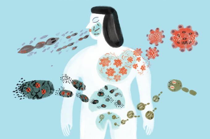 Veja como os sintomas do COVID-19 diferem de alergias, resfriado e gripe