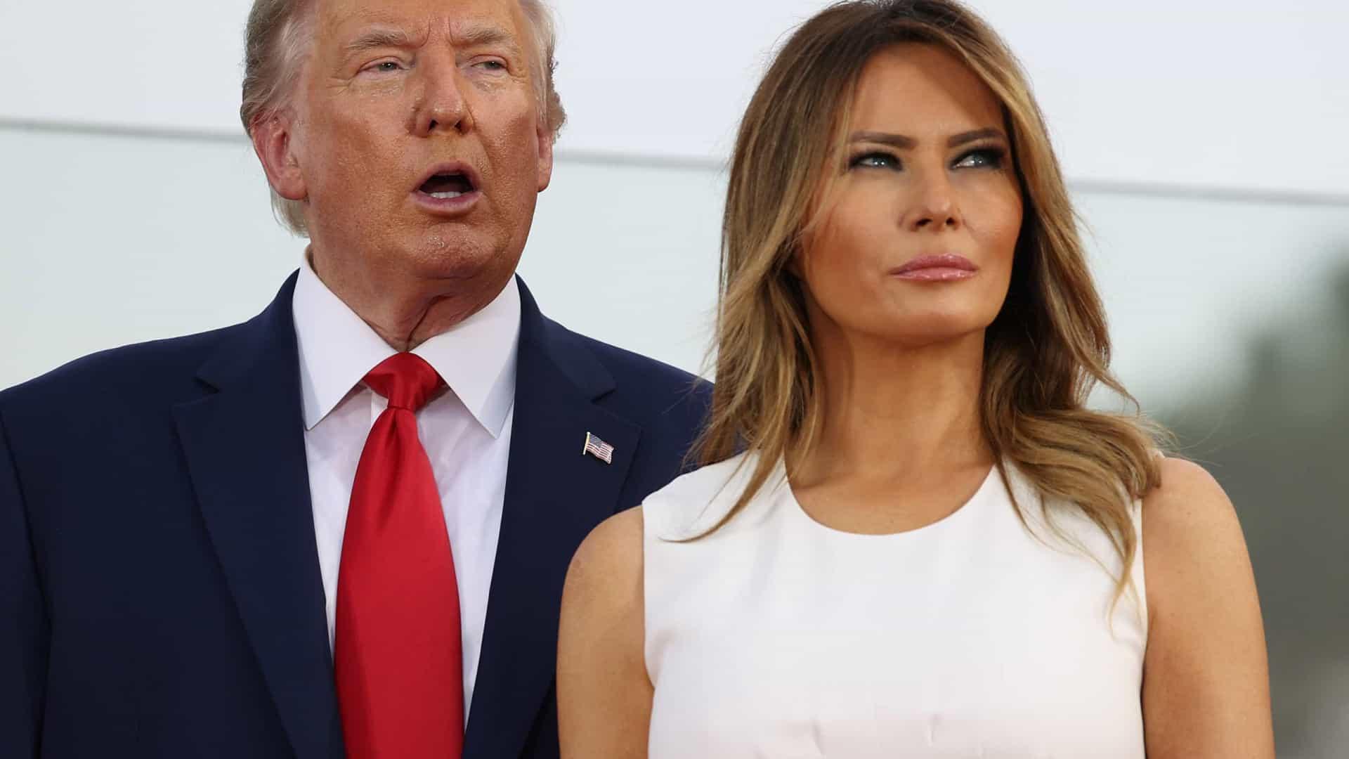 Melania Trump quebra o silêncio apoiando as alegações de fraude eleitoral do marido