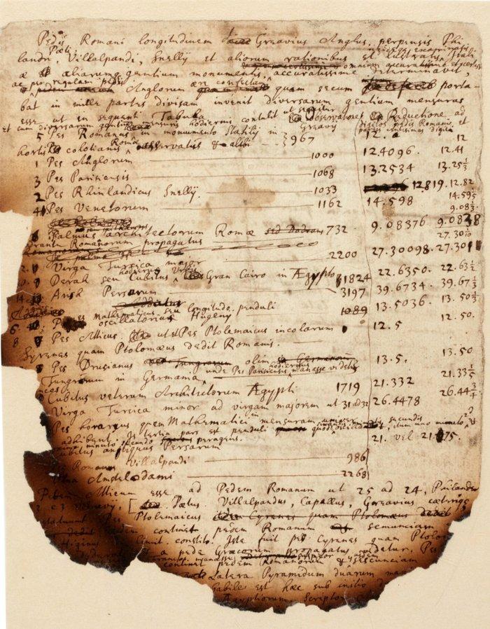 Anotações da 'Grande Pirâmide' queimada revelam a pesquisa de Isaac Newton sobre o apocalipse