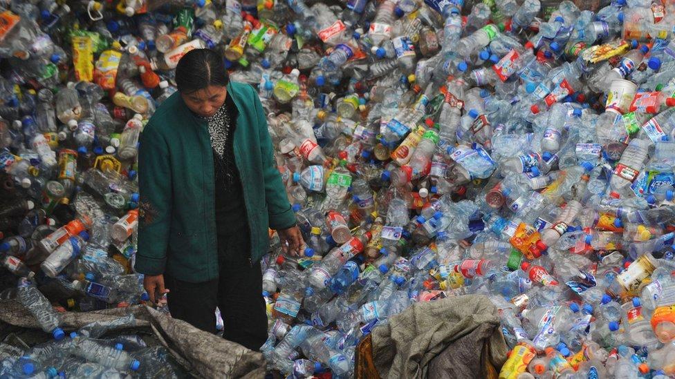Plásticos biodegradáveis da China 'não conseguem resolver a crise de poluição'