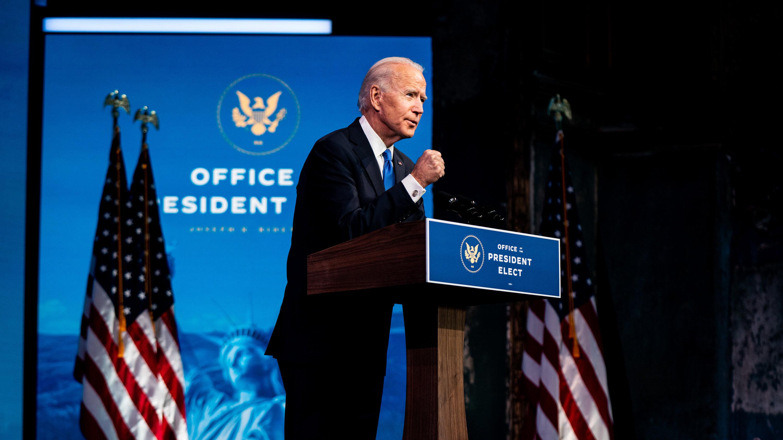 EUA: A maioria dos eleitores quer que Joe Biden avance políticas que promovam a igualdade de gênero