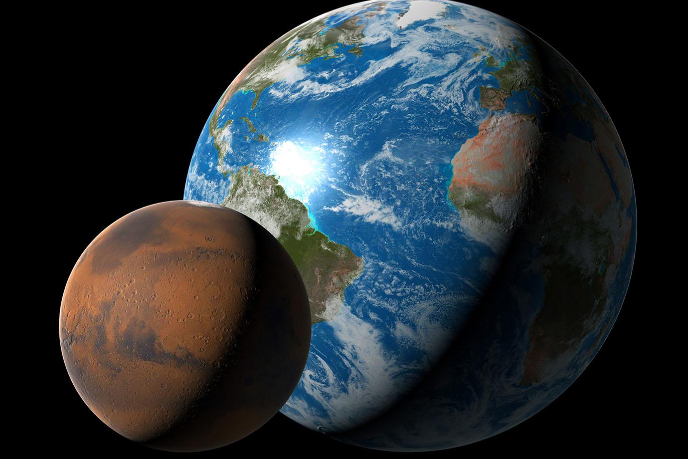 Cientistas dizem que identificaram o melhor lugar para a vida existir em Marte