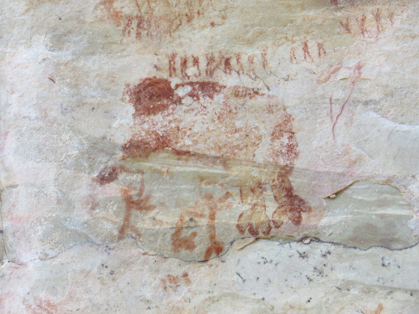Arte rupestre é encontrada nas cavernas das profundezas da floresta Amazônia
