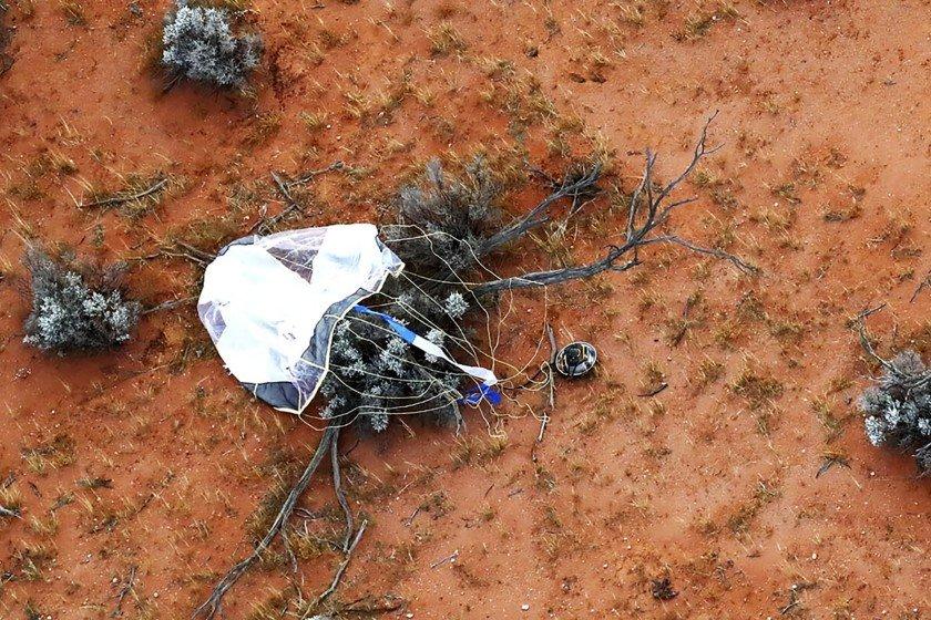 O Japão acaba de revelar ao mundo a primeira imagem do pó de asteróide de Ryugu