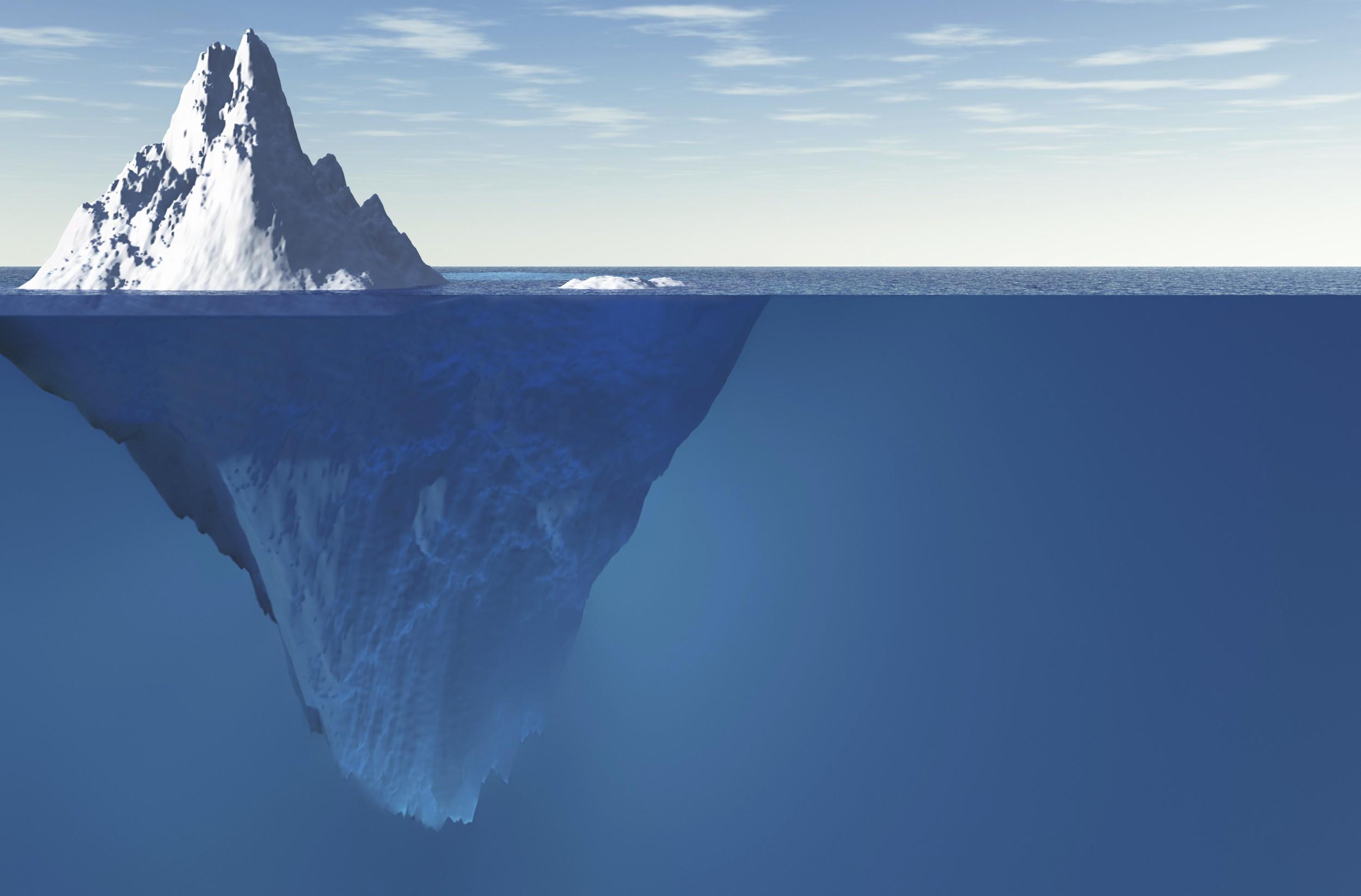 O maior iceberg do mundo a caminho para entrar em colisão com uma ilha para pinguins e focas