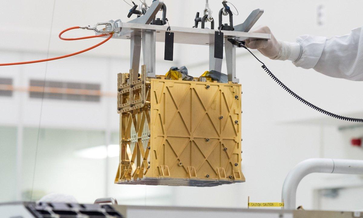 Um novo dispositivo ajudará os astronautas a extrair combustível, ar e água da salmoura marciana