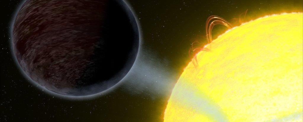 Um dos planetas mais negros da galáxia se encaminha para uma morte ígnea