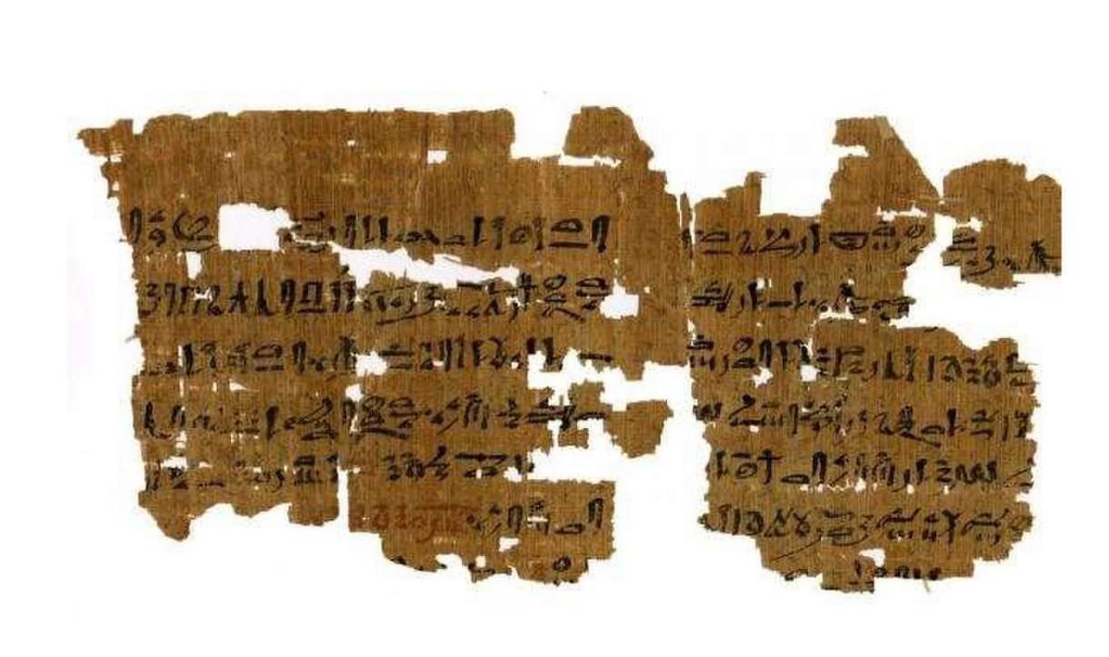 Pergaminho gigante do 'Livro dos mortos' descoberto no antigo cemitério egípcio