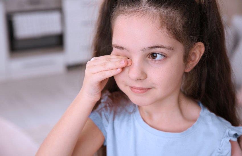 A pandemia pode estar prejudicando a visão das crianças